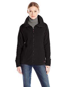Calvin Klein Performance Women's Micro Polar Fleece Jacket with ...