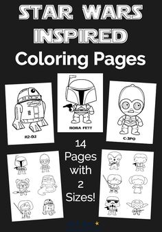 Free Star Wars Inspired Coloring Pages For Kids