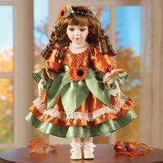 Heide Harvest Porcelain Doll
