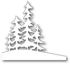 Memory Box ALPINE TREES Craft Die 99829 - - Memory Box dies are made of durable steel and usable in nearly every machine on the market! Use on cardstock, felt, fabric or shrink plastic. Cut, stencil, emboss and create! Christmas Stencils, Christmas Templates, Christmas Crafts, Christmas Decorations, Christmas Ornaments, Handmade Christmas, Wood Decorations, Christmas Clipart, Tree Crafts