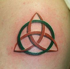 Trinity Symbol Tattoo Cool trinity knot tattoo