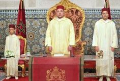 History: This is a picture of KIng Mohammed VI during Throne Day. Throne Day is a national holiday in Morocco to celebrate the coronation of King Mohammed VI. King Mohammed VI became King on July 30, 1999 seven days after his father died . It is celebrated every year and this was the sixteenth year celebrating Throne Day. It is celebrated on July 30.