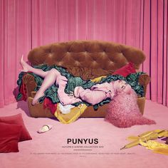 「PUNYUS 2015 AW #punyus #吉田ユニ #hamburger #ハンバーガーイメージ #展示会最終日」