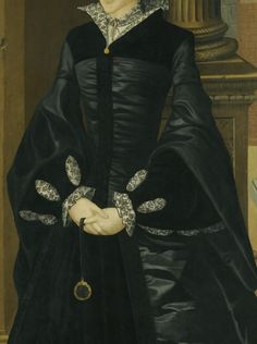 ca. 1546 Lady, probably Margaret Douglas by William Scrots