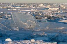 Rajsons- lite av varje: Is, is och is så långt man kan se