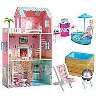 just dreamz dollhouse with deluxe barbie doll set dreamz bathroom dollhouse