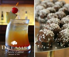 Treat yourself to a drink and dessert at Dreams Punta Cana Resort & Spa!