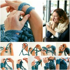 Arm Knitting Tutorial!