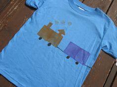 Train - Potato stamp shirt Inspo