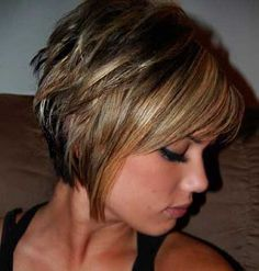 short-messy-bob-hairstyle-bangs | Best Hairstyles Design - most popular hairstyles
