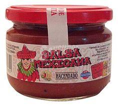 Salsa Mexicana Hacendado (Mercadona) - Todo el bote (de 190 gramos) por 1,5 puntos Salsa Mexicana, Nutella, Food And Drink, Jar, Weight Loss, Drinks, Desserts, Food Drink, Salads