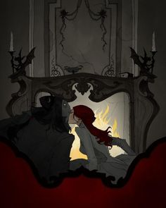 Love Like Blood: The Superb Macabre And Gothic Artworks Of Abigail Larson Abigail Larson, Gothic Artwork, Hades And Persephone, Arte Horror, The Villain, Dracula, Gothic Beauty, Macabre, Dark Art