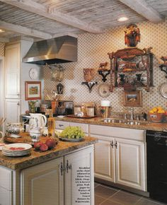 French Country Cottage Decorating All Photos Via Traditional Home