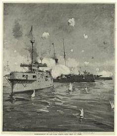 Bombardment of San Juan, Porto (i.e. Puerto) Rico, May 11, 1898.