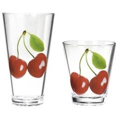 Love these cherry glasses, got them at Target a few years back.