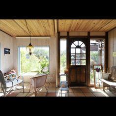 LUIS-GARDENさんの、テラコッタタイル,アンティーク,ステンドグラス,玄関/入り口,のお部屋写真