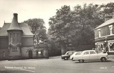 """Rainhill Mental Hospital - """"The Gates"""" - Nutgrove Road. Saint Helens, The Old Days, My Town, Over The Years, Childhood Memories, Liverpool, Nostalgia, The Past, Old Things"""