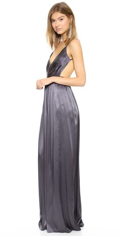 ab22cafe17 ONE by Contrarian Babs Bibb Maxi Dress