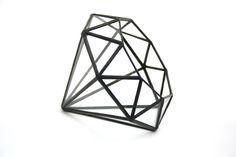 Diamond //made with recycled glass// - Medium. $60.00, via Etsy.