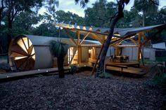 Una casa en el bosque diferente