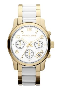 Michael Kors 'Runway' Chronograph Bracelet Watch, 38mm available at #Nordstrom