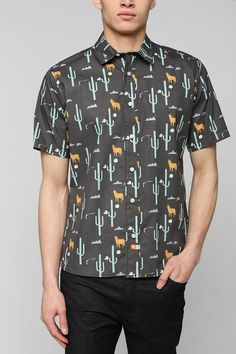ambsn Cowboy Dan Button-Down Shirt