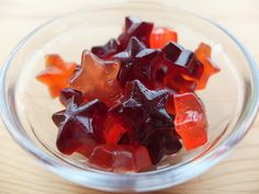 More gummy candy from scratch - this time with just TWO ingredients, and whatever fruit concentrate you like