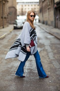 A Month of Fashion Risks: Super Flared Jeans