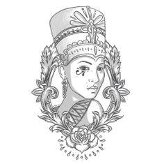 Private commission - Tattoo Design for my good friend Jon - http://kingsleydraws.tumblr.com/