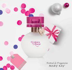 Thinking of You™ Una esencia floral-floral creada para inspirar nuevos momentos románticos e inolvidables.