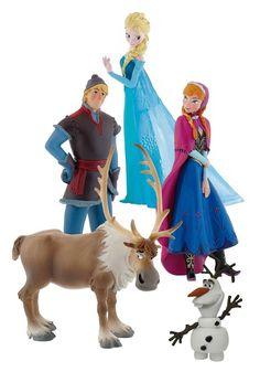 Coffret cadeau reine des neiges comprenant Anna, Elsa, Kristoff, Olaf Et Sven #figurine #coffretcadeau #reinedesneiges #disney