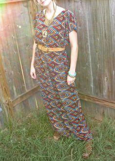 ec39e10c076c DIY Maxi dress Diy Clothes, Making Clothes, How To Make Clothes, Dress  Patterns