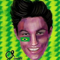Day 14 of my @olympics project #OdeliaDrawsRio, Brazilian boy @arthurnory ..... ..... Follow my page for more drawings of the best athletes. ..... ..... #artist #arts #art #arte #artwork #rio2016 #rio #olympics #portrait #fanart #illustration #illustrator #creative #design #graphic #graphicdesign #champion #brazil #inspiration #colourful #gymnastics #gallery #design #instaart