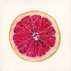 How Eating Half a Grapefruit Before Meals Can Significantly Improve Insulin Resistance + Boost Weight Loss - Organic Olivia Joel Penkman, Fruit Sketch, Fuerza Natural, Food Artists, Food Painting, Grenade, Andreas, Good Enough To Eat, Fruit Art