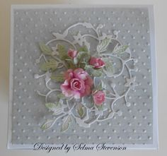 Top of Explosion Box by Selma - Cards and Paper Crafts at Splitcoaststampers
