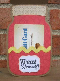 Canning Jar Card by Saundra