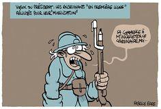 Premières lignes http://uneanneeaulycee.blog.lemonde.fr/2015/01/23/apres-les-hussards-les-poilus-de-la-republique/…