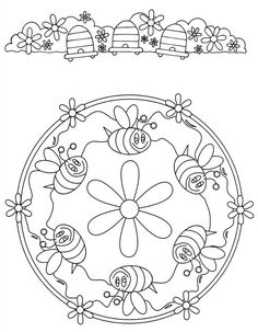 Mandalas 32 coloring page - Free Printable Coloring Pages Mandala Coloring Pages, Coloring Book Pages, Coloring Pages For Kids, Free Coloring, Mandalas For Kids, Free Printable Coloring Pages, Embroidery Patterns, Drawings, Scrappy Quilts