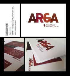 Création de l'image corporation ARGA Slogan, Design Graphique, Playing Cards, Image, Cards, Game Cards, Playing Card