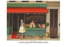 Etsy の Madame Zuella's Magical Miniatures Pet by janethillstudio