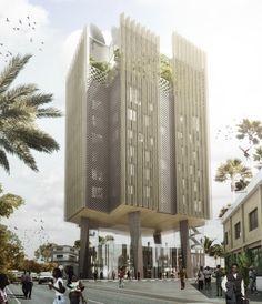 mikou design studio proposes africanews headquarters in congo