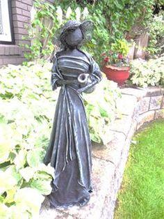 """It's For The Birds..."" - PAVERPOL Sculpture Art, Garden Sculpture, Felt Crafts Dolls, Plaster Art, African Crafts, Newspaper Crafts, Wire Art, Hobbies And Crafts, Clay Art"