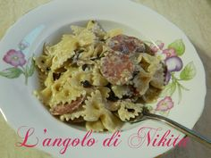 Pasta+salsiccia+e+radicchio