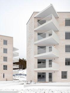 Lorentzinpuisto Apartments,© Tuomas Uusheimo