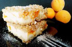 Vločkový drobenkový koláč s meruňkami Dishes, Baking, Fitness, Cakes, Cake Makers, Tablewares, Bakken, Kuchen, Cake