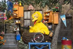 'Sesame Street' freshens its look with new sets for 46th season