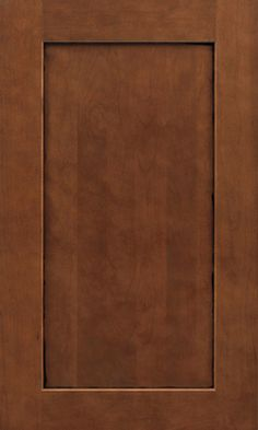 This is our cabinet style in case we want to match: 650 in Cherry Chocolate Glaze  Cabinet Styles | Waypoint Living Spaces