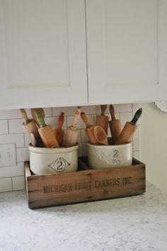 Rustic decor kitchen
