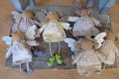 Angeli di stoffa
