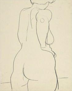 Untitled (Female Nude) Richard Diebenkorn                                                                                                                                                                                 Plus